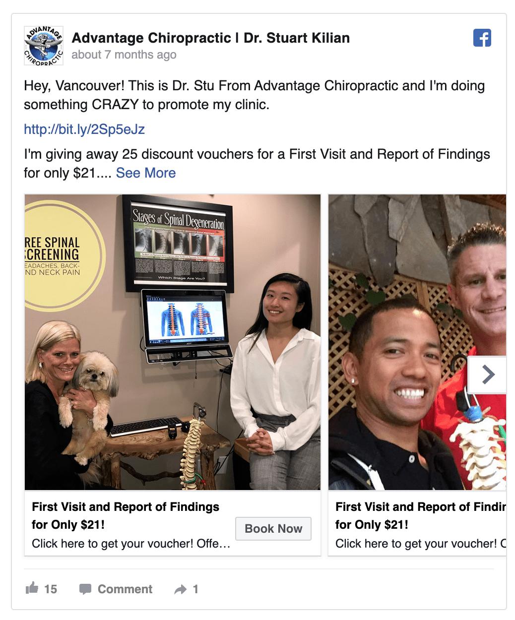 advantage-chiropractic-facebook-ad