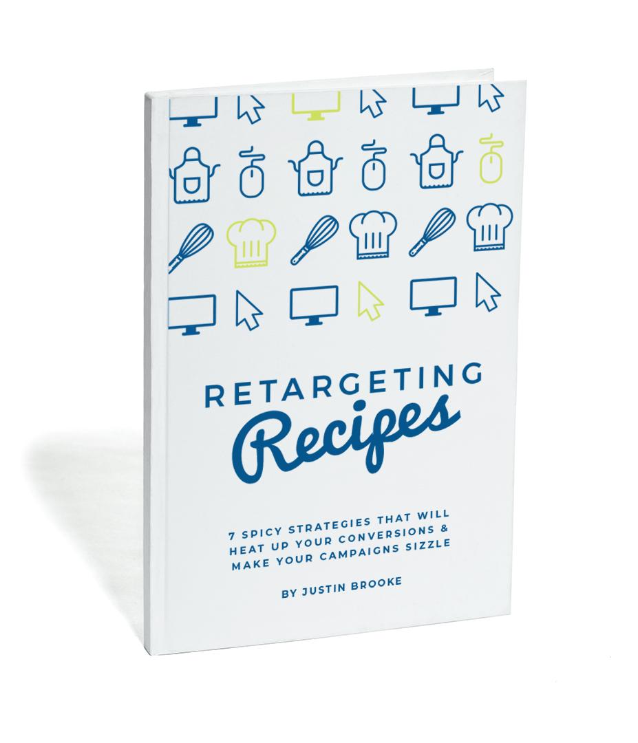 retargeting recipes book cover