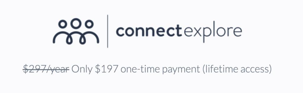 connectexplore pricing