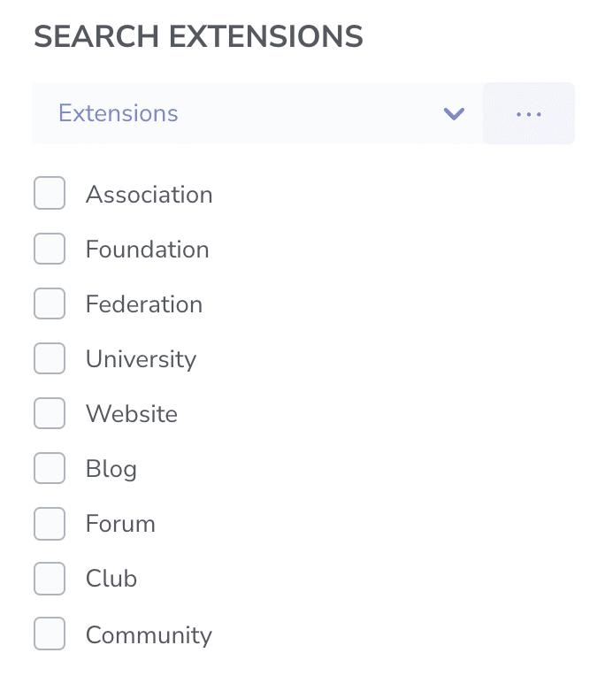 connectexplore search extensions